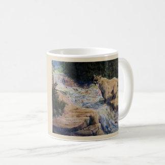 Jumping Over the River Coffee Mug
