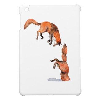 Jumping Red Fox iPad Mini Cases