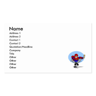 jumping shot Double-Sided standard business cards (Pack of 100)