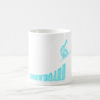 Jumping Snowboarder Coffee Mug