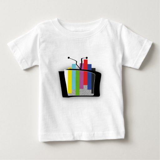 Jumping Test Card Baby T-Shirt
