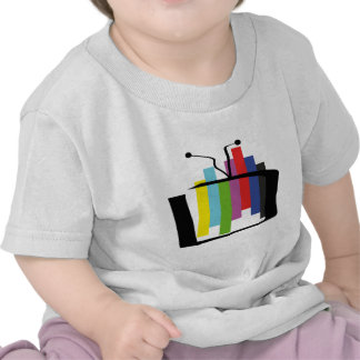 Jumping Test Card Tshirts