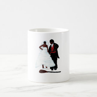 """Jumping the Broom"" Coffee Mug"