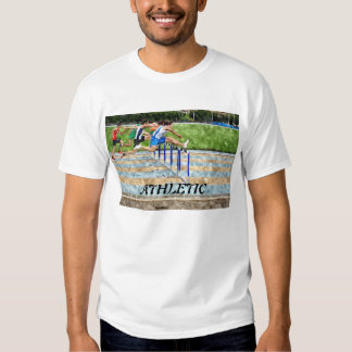 JUMPING THE OBSTACLES T SHIRT