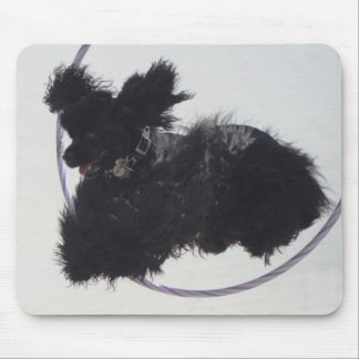 Jumping Through Hoops Mouse Pads