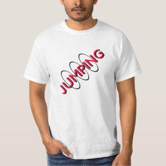 jumping through hoops tshirt