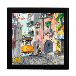 jumping tram gift box