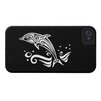 Jumping Tribal Dolphin Case-Mate iPhone 4 Case