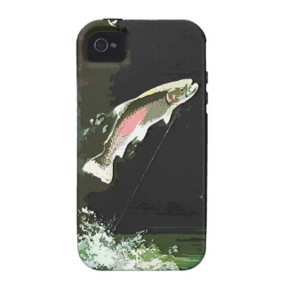 JUMPING TROUT ART Case-Mate iPhone 4 CASE