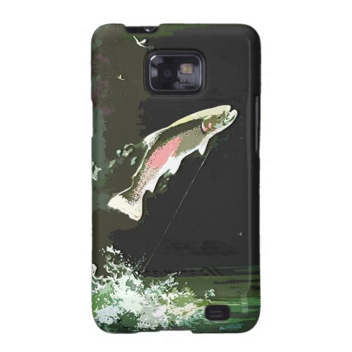 JUMPING TROUT ART GALAXY SII CASE