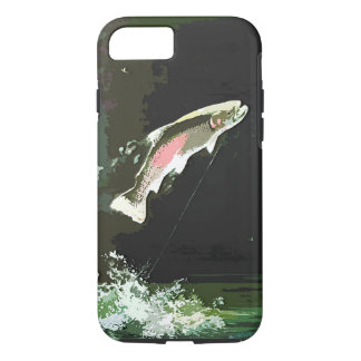 JUMPING TROUT ART iPhone 8/7 CASE