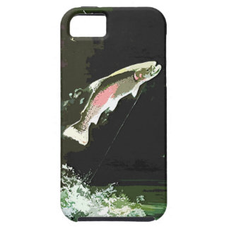 JUMPING TROUT ART iPhone SE/5/5s CASE