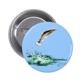 Jumping Trout Pin