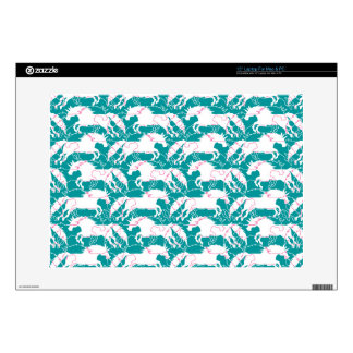 """Jumping Unicorns Decals For 15"""" Laptops"""