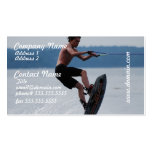Jumping Wakeboarder Business Cards