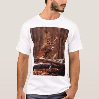 Jumping Whitetail Buck T-Shirt