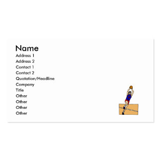 Jumpshot Double-Sided Standard Business Cards (Pack Of 100)