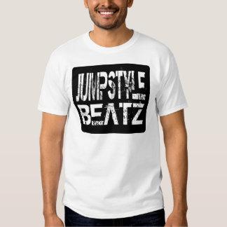 Jumpstyle Beatz - camiseta blanca para hombre Playera