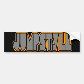 Jumpstyle Bumper Sticker