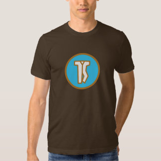 Jumpsuit Blue and Brown Logo T Shirt