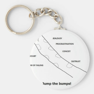 jumpthebumps keychain