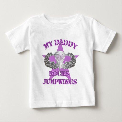 Jumpwings purple infant t-shirt