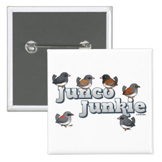 Junco Junkie Pins