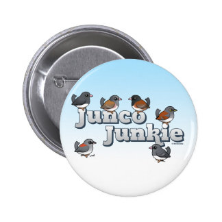 Junco Junkie Pin