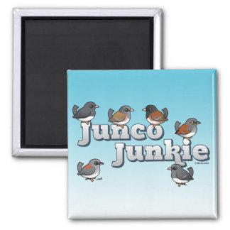 Junco Junkie Refrigerator Magnets