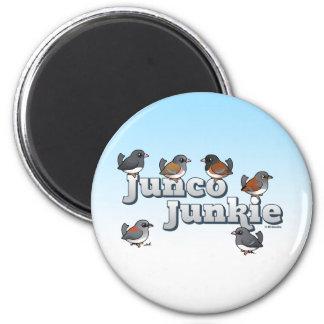 Junco Junkie Magnet