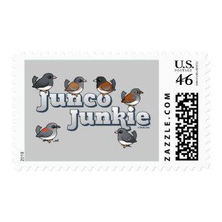 Junco Junkie Postage Stamp
