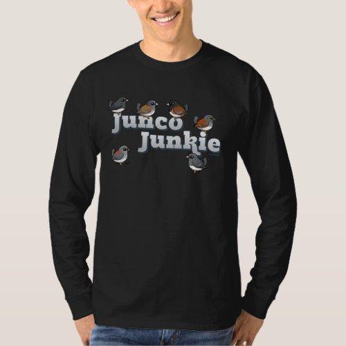 Junco Junkie T_Shirt