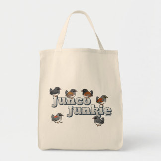 Junco Junkie Tote Bag