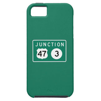 Junction 47-3, Traffic Sign, USA iPhone 5 Cases