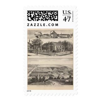 Junction City and Davis County, Kansas Postage