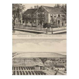 Junction City and Davis County, Kansas Post Card