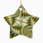Junction - Mandelbrot Art Ceramic Ornament