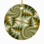 Junction - Mandelbrot Art Ceramic Ornament