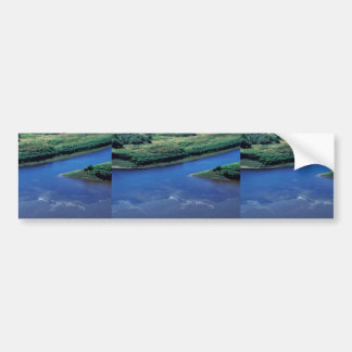 Junction of Innoko River and Hather Creek Car Bumper Sticker