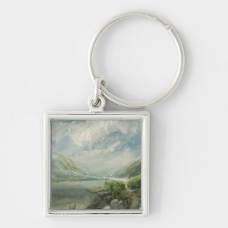 Junction of the Lahn, 1817 Keychain