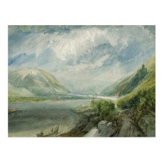 Junction of the Lahn, 1817 Postcard