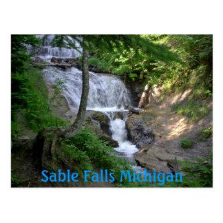 june08 203, Sable Falls Michigan Postcard