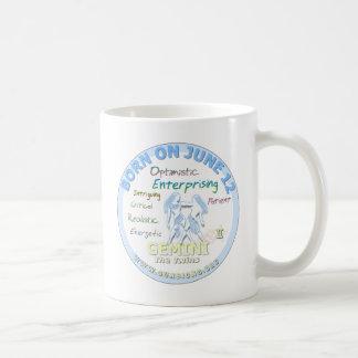 June 12th Birthday - Gemini Coffee Mug
