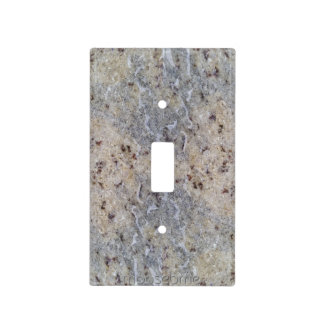 June 13th 2016 Wet Blue Granite Reflection Light Switch Cover