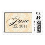 June 25, 2011 Wedding Monogram stamp