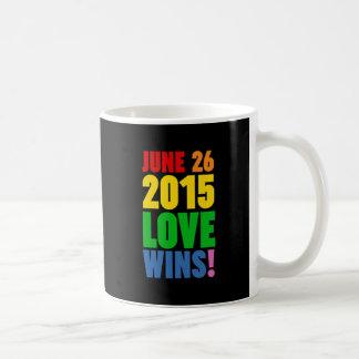 JUNE 26, 2015. LOVE WINS! COFFEE MUG