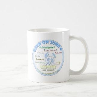 June 4th Birthday - Gemini Coffee Mug