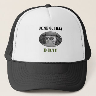 June 6, 1944: D-Day Trucker Hat