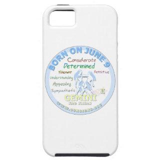 June 9th Birthday - Gemini iPhone SE/5/5s Case