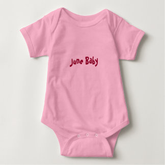June Baby Baby Bodysuit